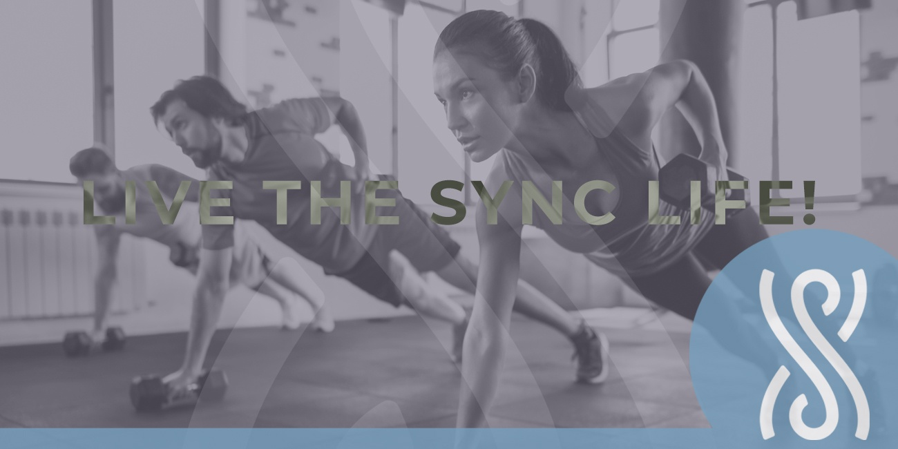 live the sync life - yoga cardio